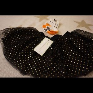 Other - Brand new Halloween tutu and socks